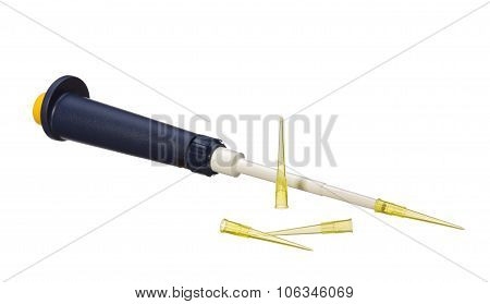 Laboratory Pipette And Tips