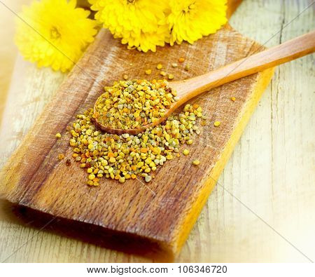 Pollen granules - healthy supplement for diet