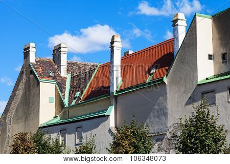 Old Houses In Belvedere Gardens, Vienna