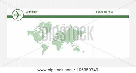 green boarding pass