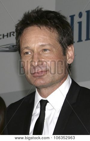 LOS ANGELES - JAN 11:  David Duchovny at the NBC Post Golden Globes Party at a Beverly Hilton on January 11, 2015 in Beverly Hills, CA