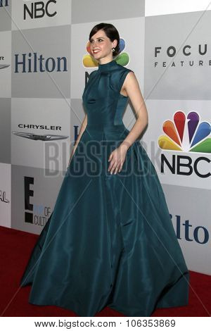 LOS ANGELES - JAN 11:  Felicity Jones at the NBC Post Golden Globes Party at a Beverly Hilton on January 11, 2015 in Beverly Hills, CA