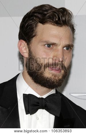 LOS ANGELES - JAN 11:  Jamie Dornan at the NBC Post Golden Globes Party at a Beverly Hilton on January 11, 2015 in Beverly Hills, CA