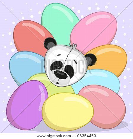 Panda With Eggs