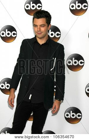LOS ANGELES - JAN 14:  Dominic Cooper at the ABC TCA Winter 2015 at a The Langham Huntington Hotel on January 14, 2015 in Pasadena, CA