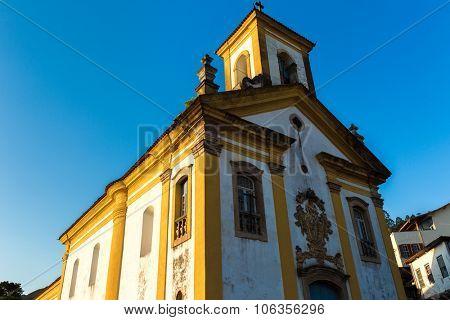 Nossa Senhora das Merces Church in Ouro Preto, Brazil