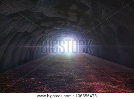 Cave Rock Tunnel Exit Flare