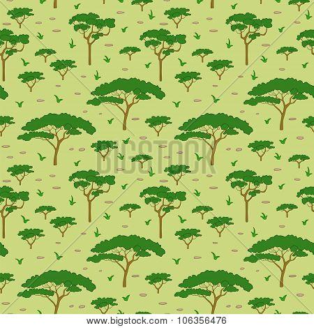Savanna Tree Pattern