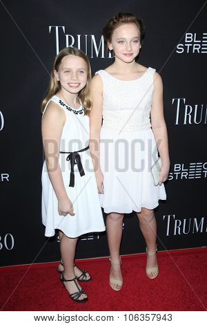 LOS ANGELES - OCT 27:  Meghan Wolfe, Madison Wolfe at the
