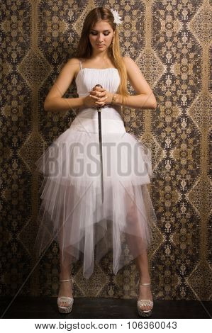 Bride With Broadsword