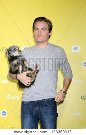 LOS ANGELES - JAN 10:  Kevin Zegers at the CW Network presents