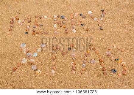 Merry Xmas on the beach