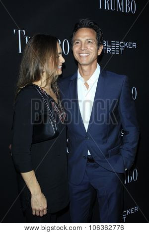 LOS ANGELES - OCT 27:  Talisa Soto, Benjamin Bratt at the