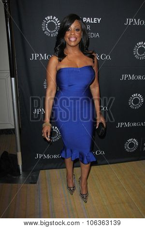 LOS ANGELES - OCT 26:  Niecy Nash at the Paley Center's Hollywood Tribute to African-Americans in TV at the Beverly Wilshire Hotel on October 26, 2015 in Beverly Hills, CA