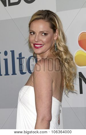LOS ANGELES - JAN 11:  Katherine Heigl at the NBC Post Golden Globes Party at a Beverly Hilton on January 11, 2015 in Beverly Hills, CA