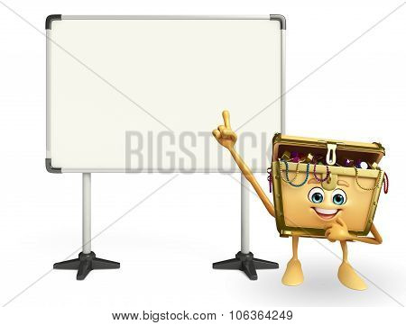Treasure Box Character With Display Board