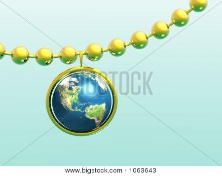 Garland And Globe.