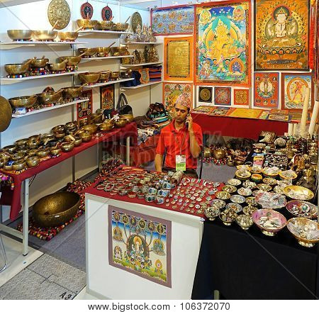 Selling Tibetan Religious Artifacts