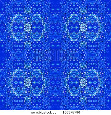 Seamless ornaments dark blue