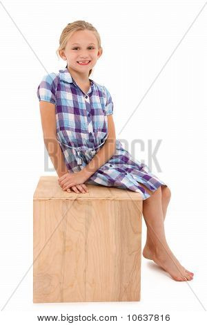 Girl On A Box