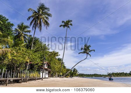 Boipeba Island Beach, Morro De Sao Paulo, Salvador, Brazil