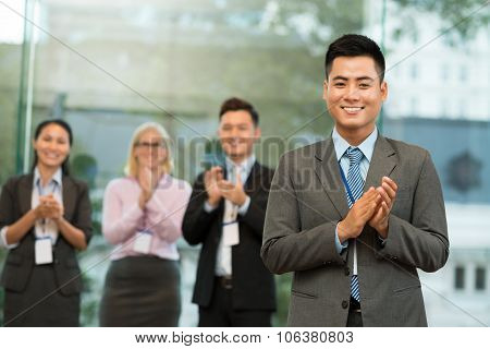 Cheerful Businessman