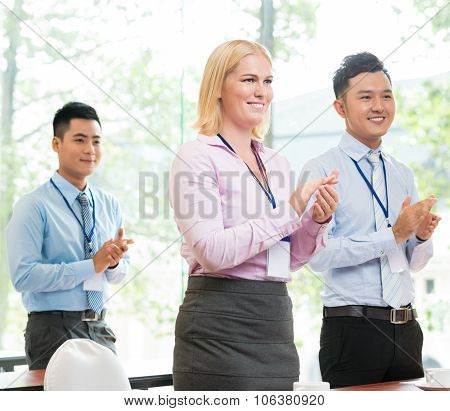 Business Applauding