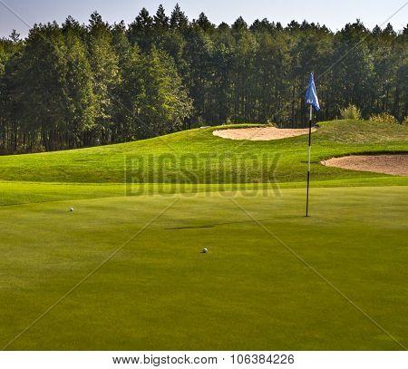 Golf Course, Green
