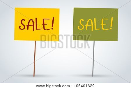 Sale, Off vector board banners. Sale vector and Sale label icons. Shop discount sale. Free offer, promotion, promo, market. Sale vector sign. Sale vector icons silhouette. Sale banner, sticker, label
