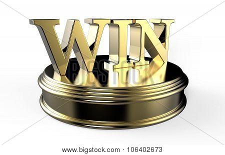 Gold Win On Podium
