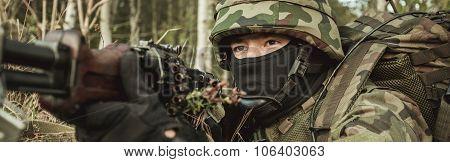 Marine Training Outside