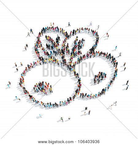 group  people  form  berries