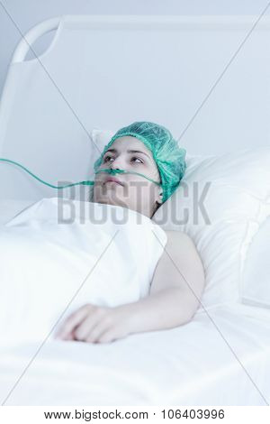 Female Patient During Convalescence