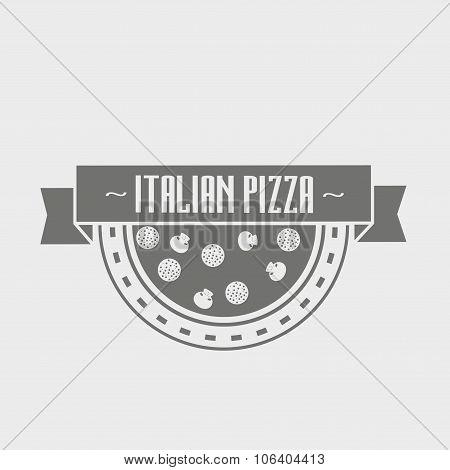 Pizzeria Logotype Concept.