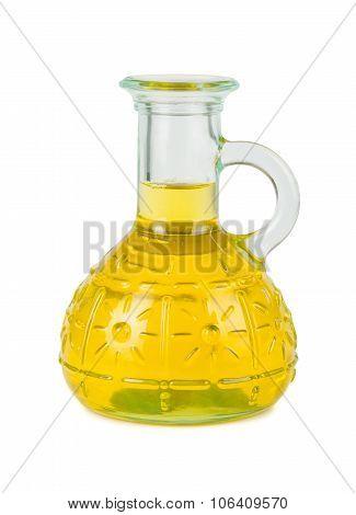 Yellow Vegetable Oil Bottle