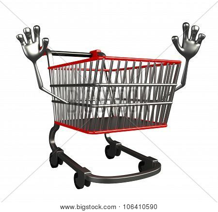 The Trolly Charecter With Hello Pose