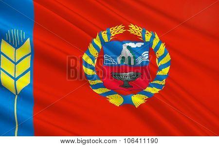 Flag Of Republic Of Altai Krai, Russian Federation