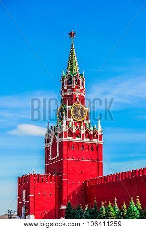 Moscow Kremlin Spasskaya Tower