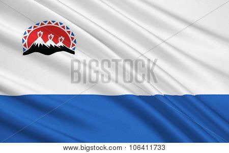 Flag Of Kamchatka Region, Russian Federation