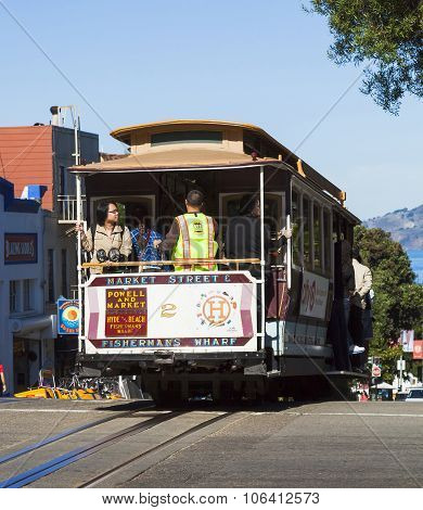 The San Francisco Cable Car Tram