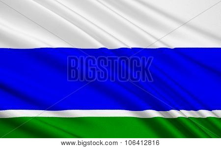 Flag Of Sverdlovsk Oblast, Russian Federation