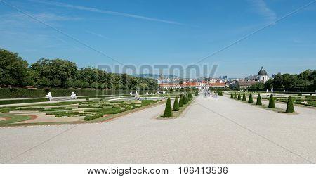 Belvedere Unteres Castle Park - Vienna