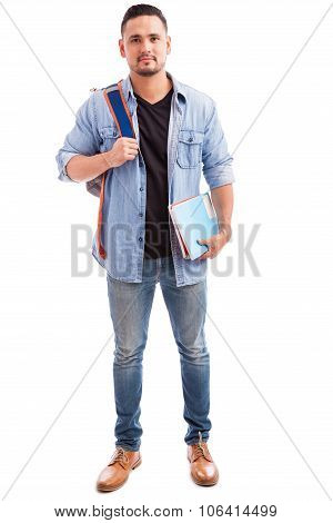 Attractive College Student