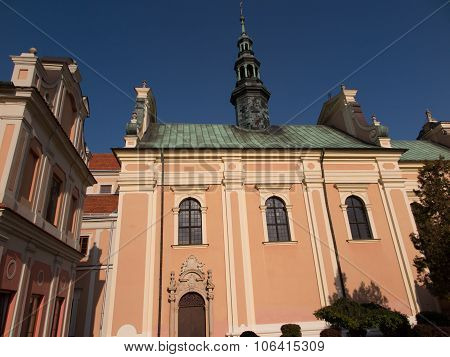 Church Of Sts. Archangel Michael In Sandomierz, Poland