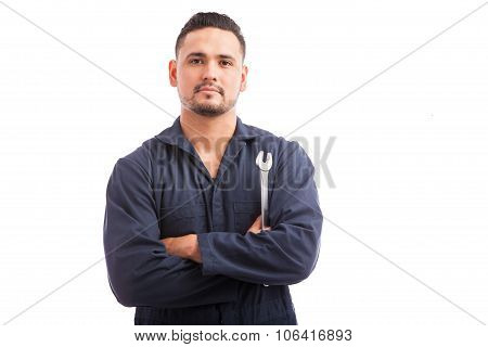 Good Looking Young Mechanic