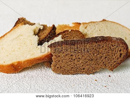 Slices Of Stale Bread