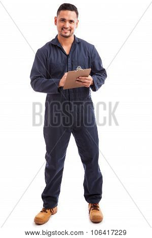 Electrician During A Home Inspection