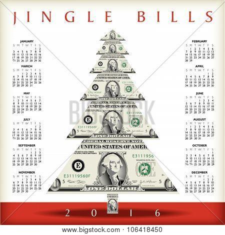2016 Christmas calendar