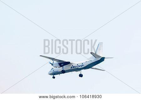 Flying AN-26B of Utair Cargo company