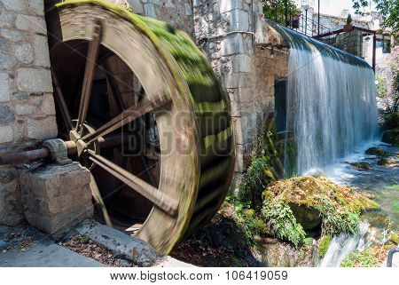 Water Mill In Greece